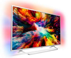 """Philips 50PUS7383/12 50"""" 3 Sided Ambilight 4K UHD TV with HDR10/HLG £404.10 / 43PUS7383/12 43"""" £359.10 with code @ AO"""
