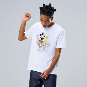 Big Sale On Uniqlo Mens UT Graphic T-shirts £2.90 & £5.90, Mickey Mouse, Gundam, Mario, Lego, Street Fighter, Blizzard Ent, Monster Hunter,