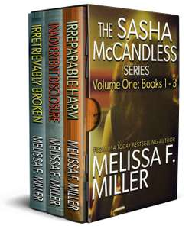The Sasha McCandless Series: Volume 1 (Books 1-3) Kindle Edition Free @ Amazon