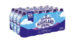 Highland Spring Still Spring Water, 24 x 330ml £2.90 + £3.99 delivery(Basket less than £15) @ Amazon Pantry