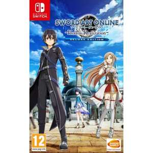 Sword Art Online Hollow Realization Deluxe Edition for Nintendo Switch - £22.95 at The Game Collection