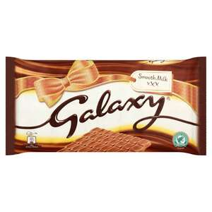 Galaxy 360g bar 91p at Amazon Pantry (delivery £3.99 unless you use the free delivery with 4 items offer)