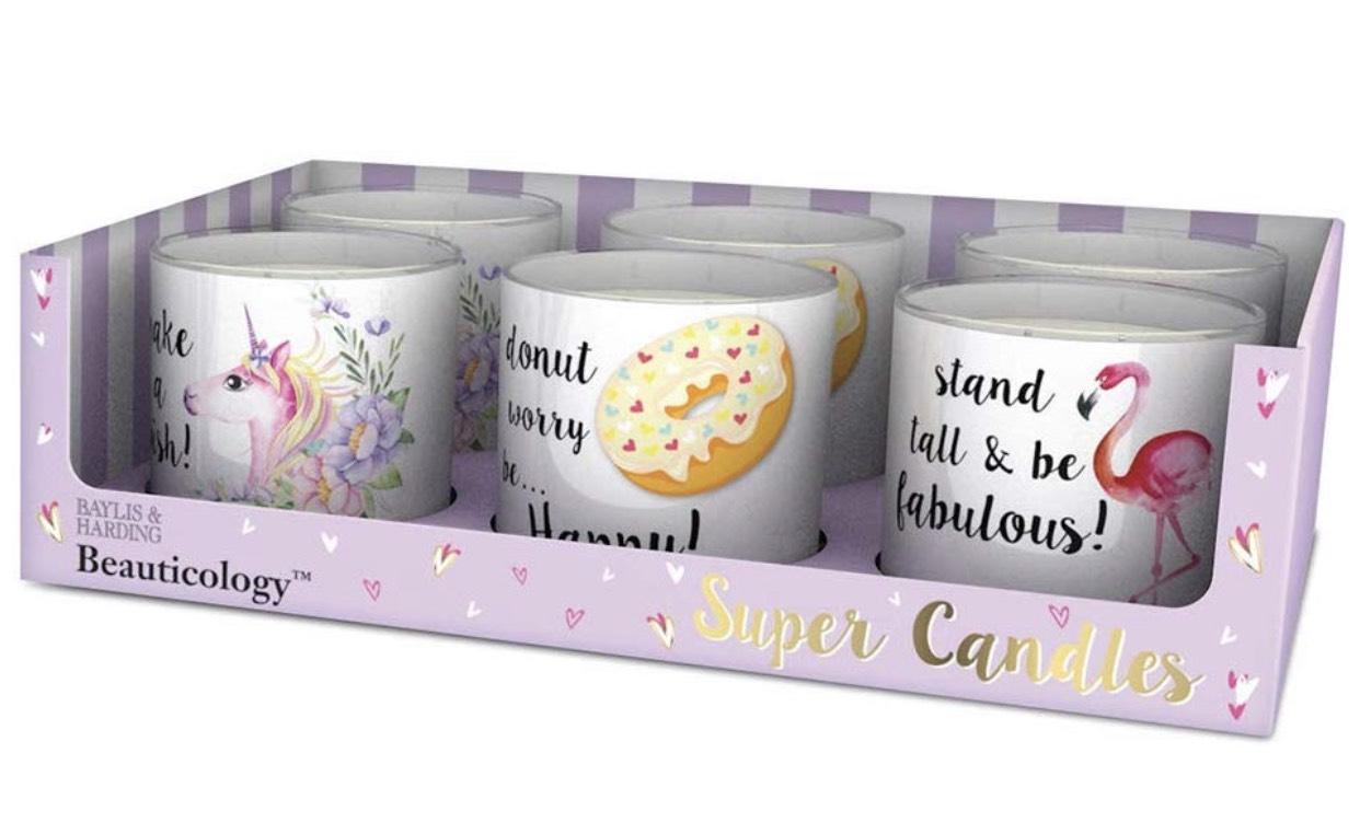 Beauticology Six 30hr Burn Time Candle Gift Set - £8.93 + £3.99 postage at Amazon Pantry (£15 basket minimum)