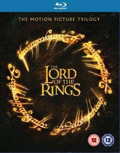 The Lord Of The Rings Trilogy Blu Ray Used £3.77 delivered with code @ Music Magpie
