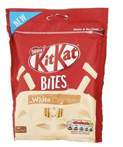 KitKat Bites white Sharing bag, 104g (Pack of 10) - £3.98 + £3.99 postage  at Amazon Pantry
