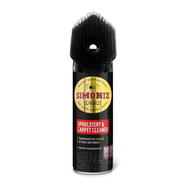 Simoniz Upholstery & Carpet Cleaner 400ml £2.50 @ Morrisons