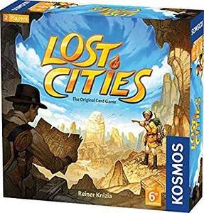 Lost Cities Card Game £13.14 @ Amazon (Prime / +4.49 Non-prime)