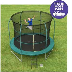 10ft Trampoline with enclosure £89.99 free C&C Smyths free kids ticket to Legoland & free delivery for account holders
