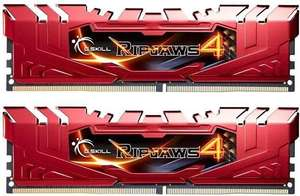 G.SKILL Ripjaws 4 Series DDR4 16 GB (2 x 8 GB) 2400MHz CL15 - £50.99 at Amazon