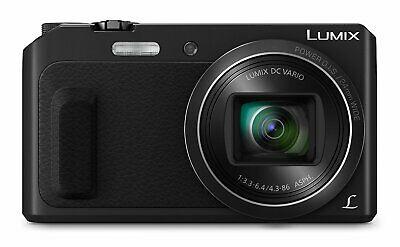 Refurbished (1 year warranty) Panasonic LUMIX DMC-TZ57EB-K Superzoom Digital Camera 16MP Selfie Shooting Mode, £69.99 at Panasonic/ebay
