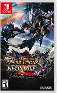 Monster Hunter Generations Ultimate (Nintendo Switch) 50% off - £24.99 at Nintendo eShop