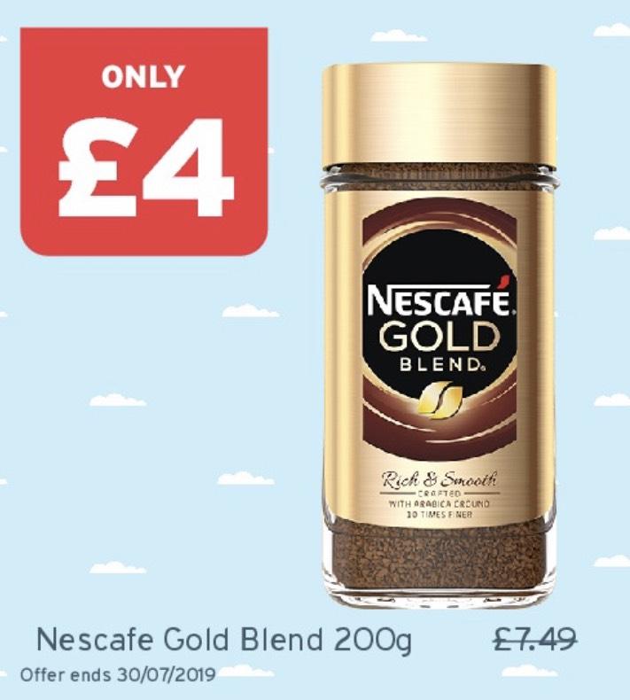 Nescafé Gold Blend 200g £4 @ Onestop