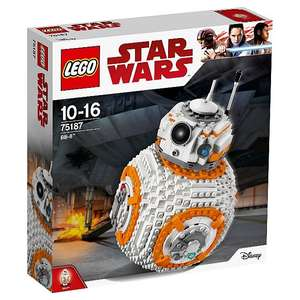 LEGO 75187 Star Wars The Last Jedi BB-8 Toy free click and collect £63.73 @ Asda