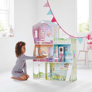 Glamour Mansion wooden dolls house £45 George