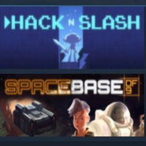 Spacebase DF-9 + Hack 'n' Slash (Includes both games and their soundtracks!) £1.64 @ Steam