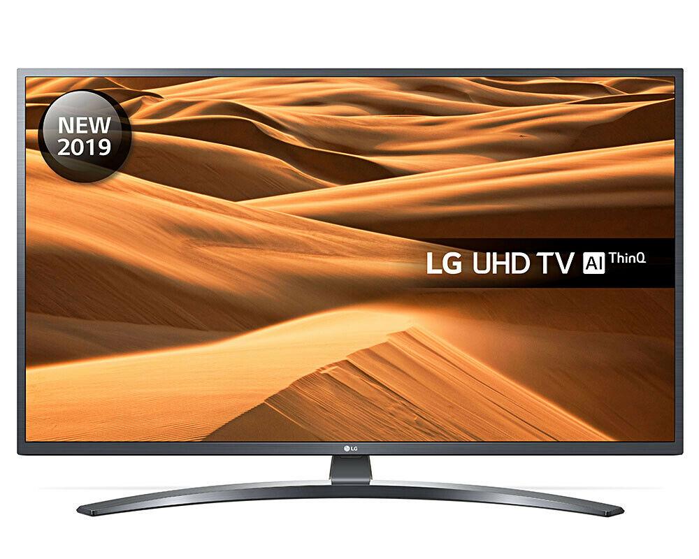 LG 55UM7400PLB 55 inch 4K Ultra HD HDR Smart LED TV Freeview Play 2019  £449 ebay / Hughes Direct