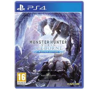 Monster Hunter World Iceborne - Master Edition pre order PS4 £38.85 Base.com