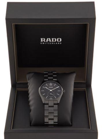 RADO True Specchio Black Dial Men's Watch just 7mm thick fully ceramic 37mm RRP £1,650 - £699.99 delivered @ TK Maxx