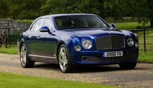 Bentley Mulsanne Saloon Lease - £31,899.85 upfront + £3544.43/month for 48 months (£202,032.49 total) @ Select Car Leasing