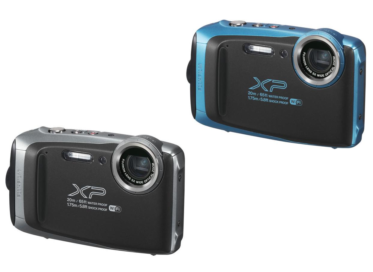 FUJIFILM XP130 Tough Compact Camera - Graphite / Blue - £67.97 @ Currys (Free c&c)