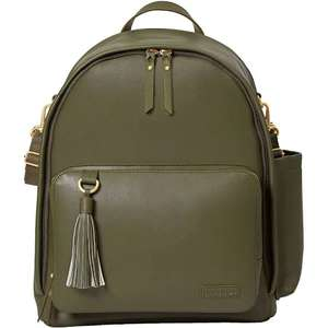 Skip Hop greenwich simply chic baby change backpack  - olive (was £99) Now £49.50 + Free C&C @ Mothercare