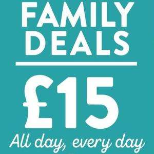 3 FANTASTIC FAMILY DEALS, ONE GREAT PRICE!Hungry horse £15