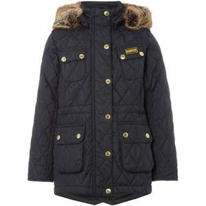 Girls Barbour Lifestyle OW B.Intl Enduro Quilt Coat (size 8-9 only) - £33 @ House of Fraser (£37.99 delivery / C&C)