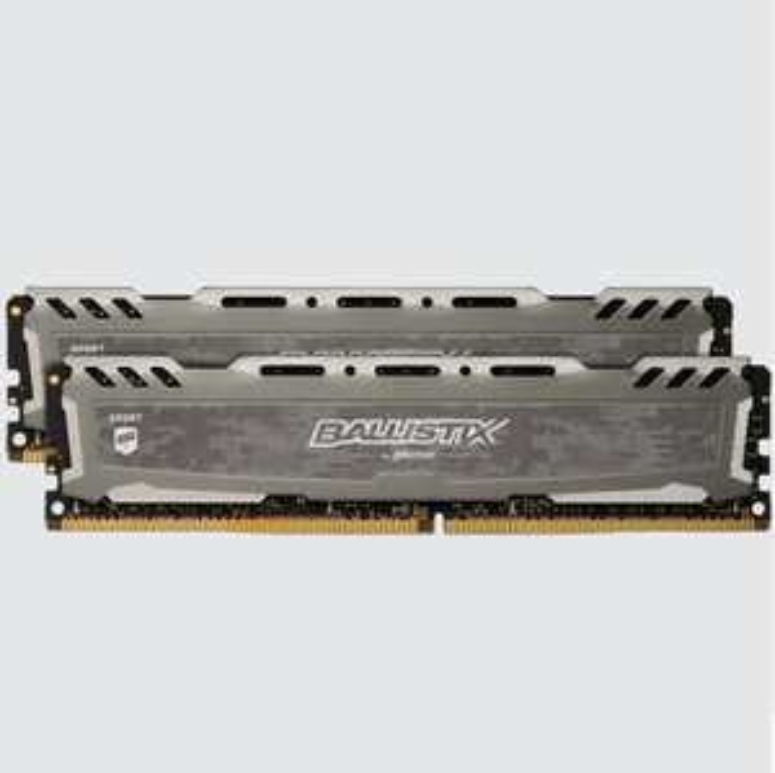 Ballistix Sport LT Gray 32GB Kit (2 x 16GB) DDR4-3200 UDIMM £140.83 Delivered @ Crucial