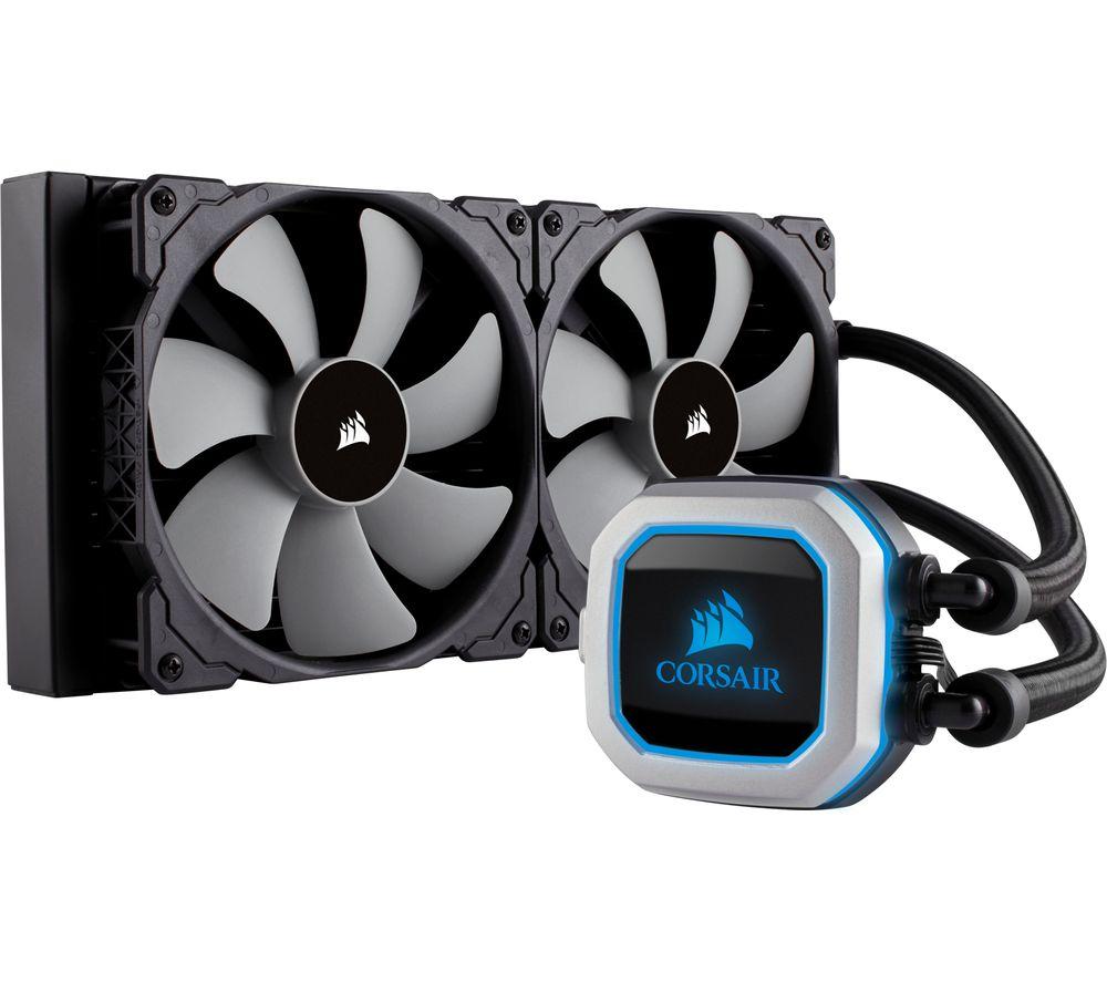 Corsair H115i PRO RGB 280mm AIO CPU Liquid Cooler @ Amazon