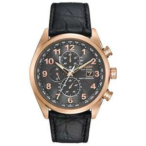 Citizen World Chrono A-T Radio Controlled Sapphire Limited Edition Watch £224.10 at E.Jones-with code