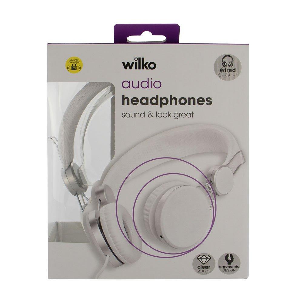 Wilko wired audio headphones £1 each instore