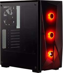 Corsair SPEC-DELTA Carbide Series, RGB Tempered Glass Mid-Tower ATX Gaming Case - Black - £51.63 @ Amazon