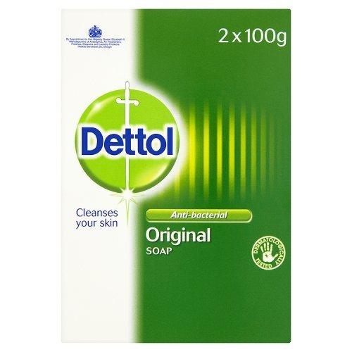 Dettol Bar Soap Original (2x 100g) £1 + £4.49 delivery Non prime @ Amazon