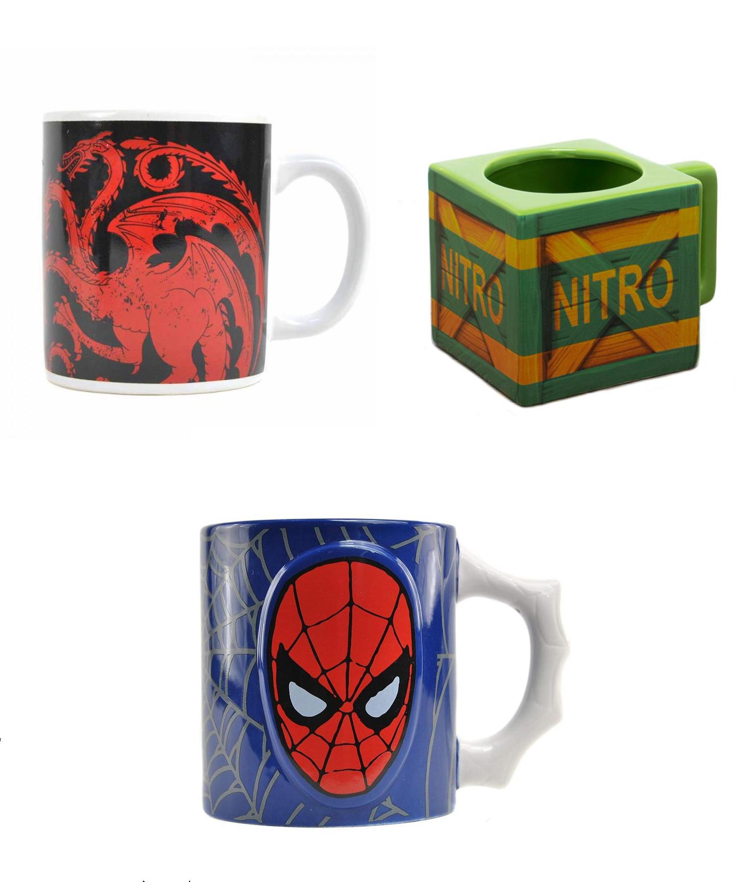 3 Mugs for £15 Delivered (Crash / Star Wars / GoT and more) @ Geek Store