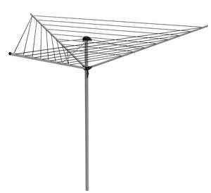 Sunfresh 30m Outdoor Rotary Clothes Airer - 3 Arm - £9.07 + Free C&C @ Homebase