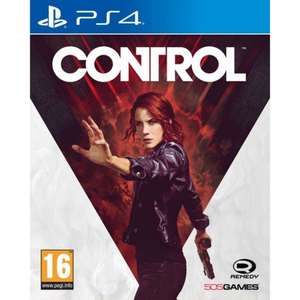 Control for PS4/XBOX One £39.95 with T-shirt at The Game Collection