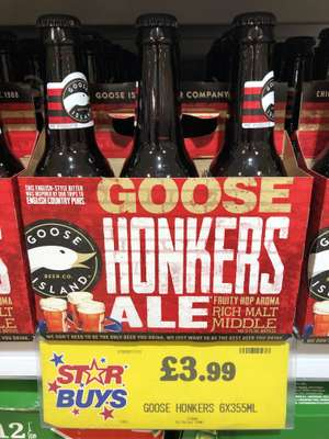 Goose Honkers Ale £3.99 at Home Bargains