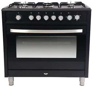 Bush BRCNB90SEBK Dual Fuel Range Cooker 5 Gas Hobs FSD Compliant Black 90cm £279.99 delivered @ Argos ebay