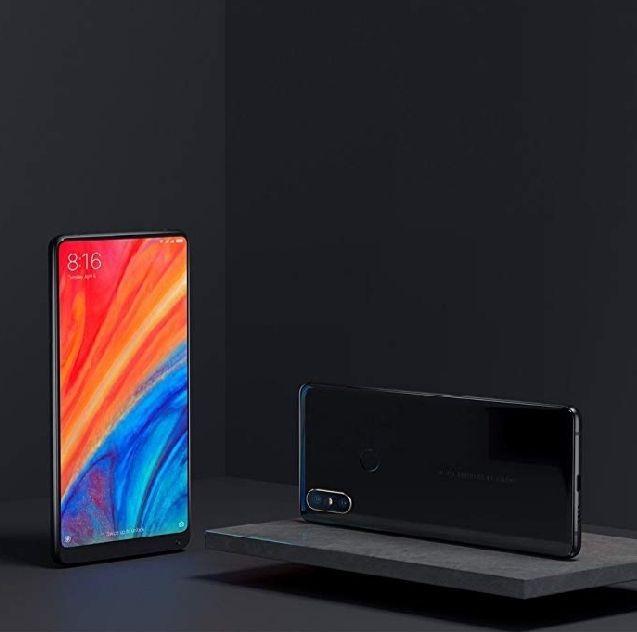 128GB Xiaomi Mi Mix 2S 6GB RAM Smartphone Black £295.14 @ Amazon