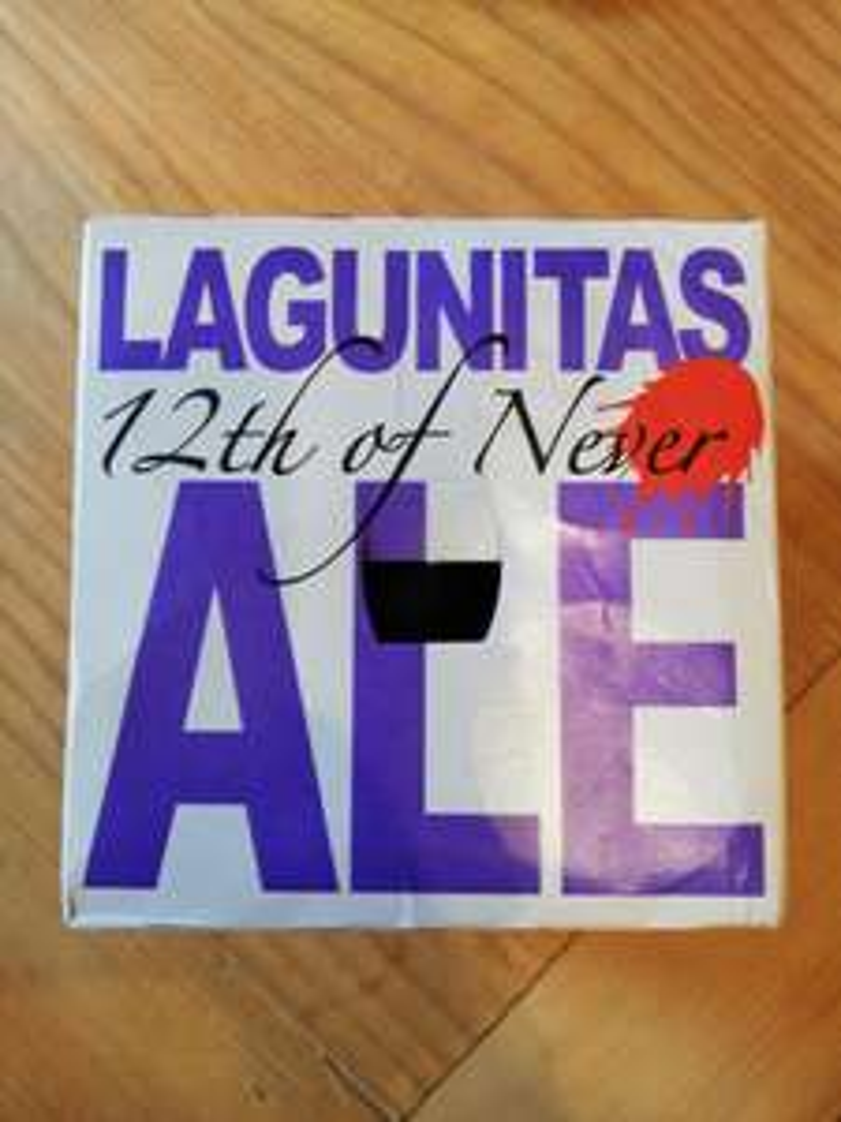 Lagunitas 12th of Never Ale 4pk £2.99 @ Home Bargains