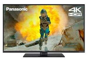 Panasonic TX-49FX555B 49'' SMART 4K Ultra HD HDR LED TV Freeview Play WiFi - Refurbished £249.99 @ Panasonic ebay