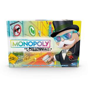 Hasbro Gaming Monopoly for Millennials Board Game £9.99 delivered with prime / £14.48 non-prime @ Amazon