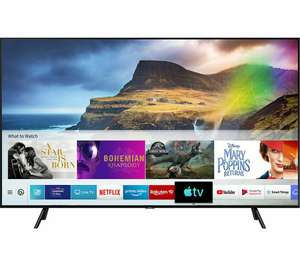"SAMSUNG QE55Q70RATXXU 55"" Smart 4K Ultra HD HDR QLED TV with Bixby £1149 with code @ Currys"