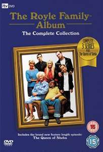The Royle Family: The Complete Series 1-3 with The Queen of Sheba (DVD) [Used] - £1 instore @ CeX