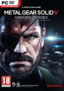 Metal Gear Solid V 5: Ground Zeroes PC 99p @ CDKeys