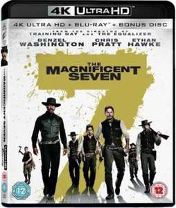 The Magnificent Seven (4K Ultra HD + Blu-ray + Bonus Disc) [New & Sealed] - £7.99 Delivered @ Fask77/eBay