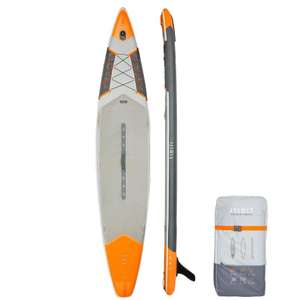 "ITIWIT Inflatable Touring Stand Up Paddle Board 500/12'6-29"" Orange - £399.99 at Decathlon"