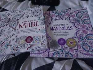 Colouring greeting cards, stickers and envolopes 50p Wilkos