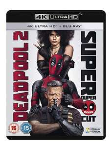 Deadpool 2 4K UHD Blu-ray £10.59 + £2.99 delivery Non Prime @ Amazon