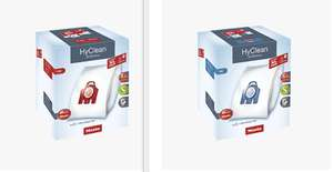 FJM or GN XL Pack HyClean 3D Efficiency 8 dustbags and 1 filter (Active Airclean or HEPA) at discount price @ Miele